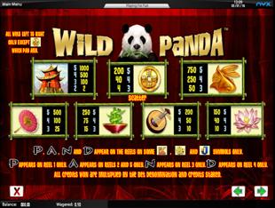 Play Wild Panda Slots Free